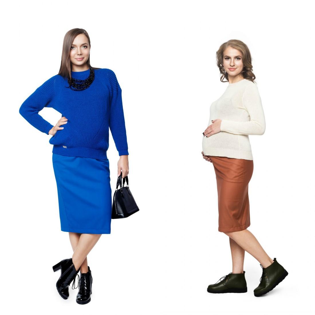 Базовый гардероб для беременной: юбки