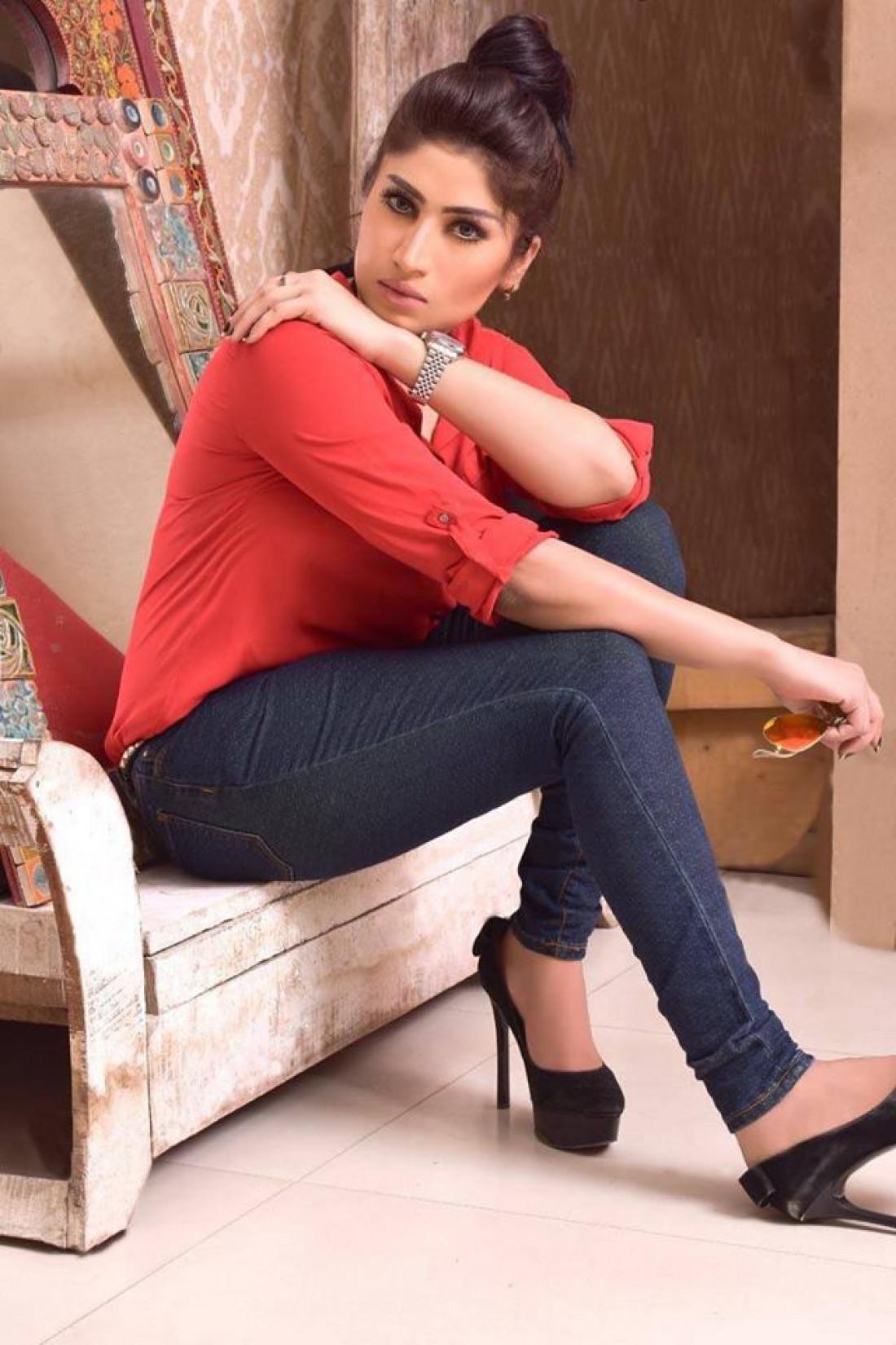 Модель и блогер Кандил Балоч