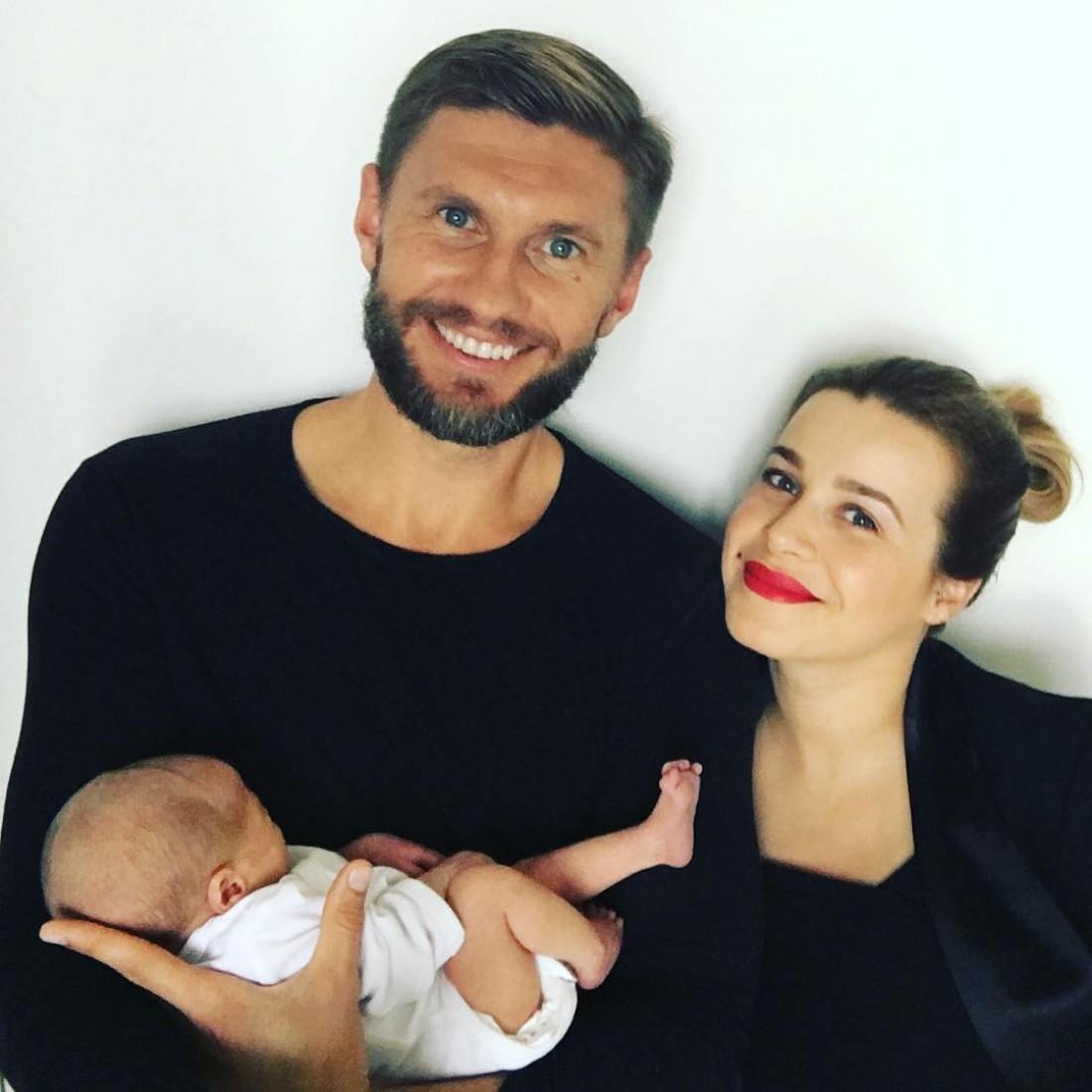Евгений Левченко и его супруга