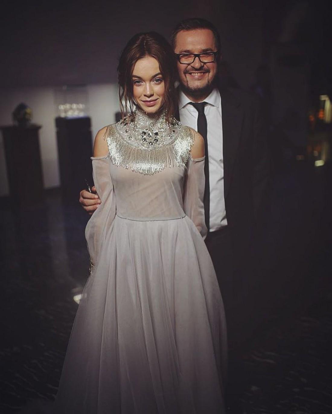 Мария Яремчук и Александр Пономарев на балу Viva