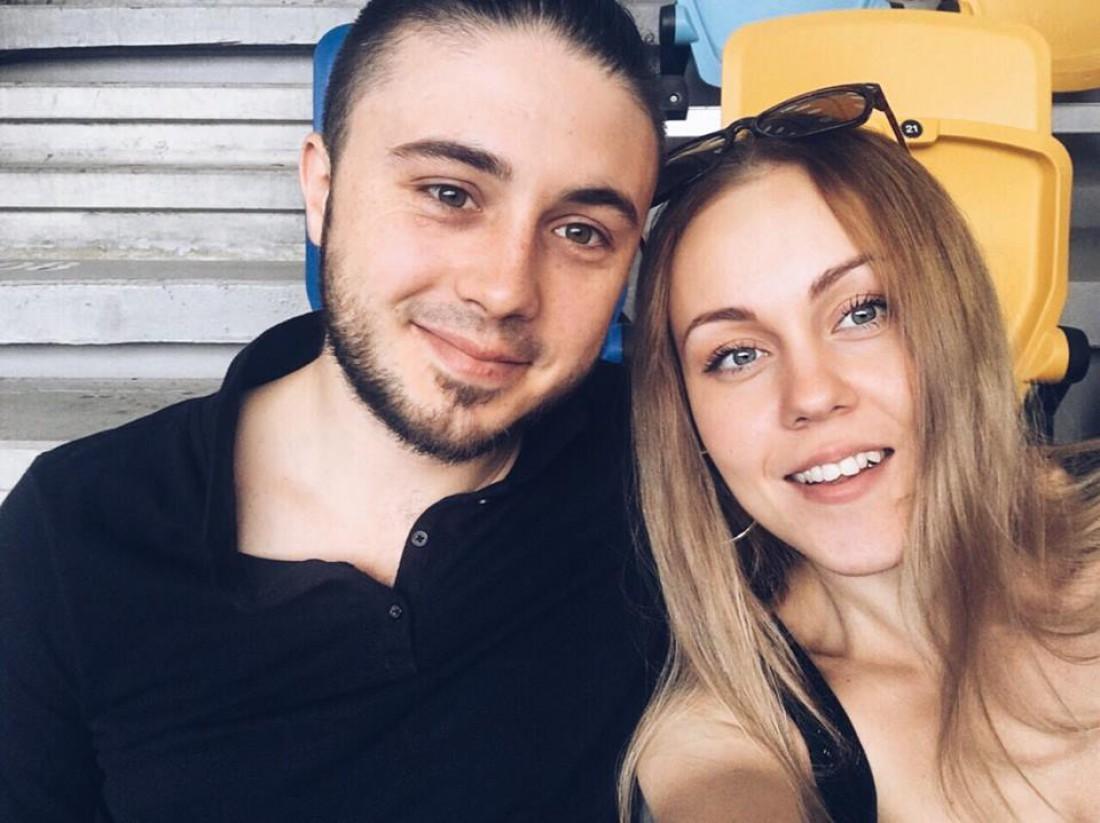 Певица Alyosha с мужем Тарасом Тополей
