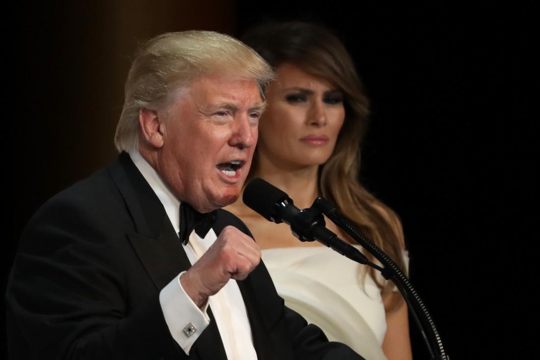 Дональд Трамп спит с женой в разных комнатах