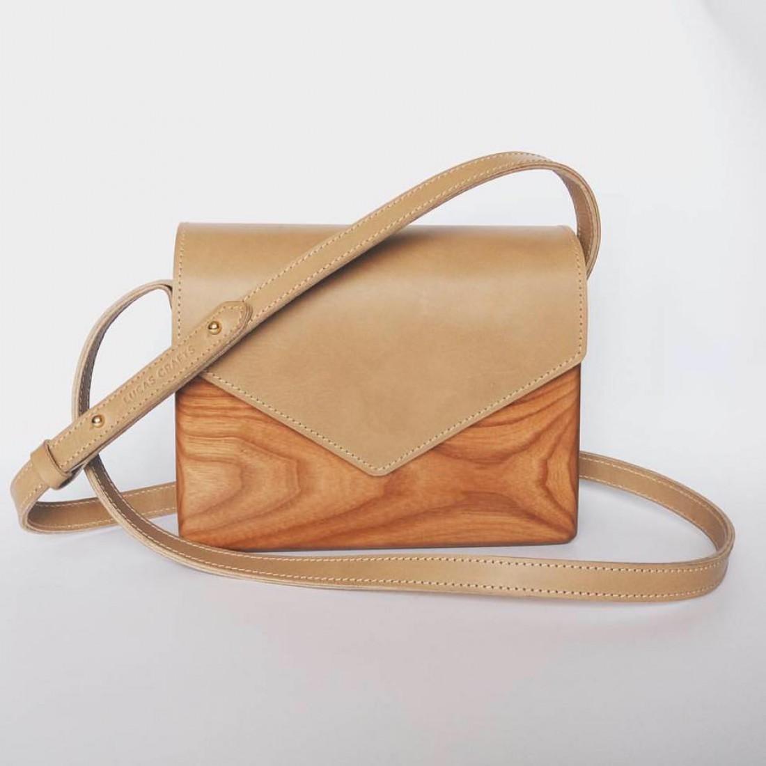 Вещь дня  сумка из дерева и кожи - Тренды моды, мода 2017, модные ... 652d547eb87