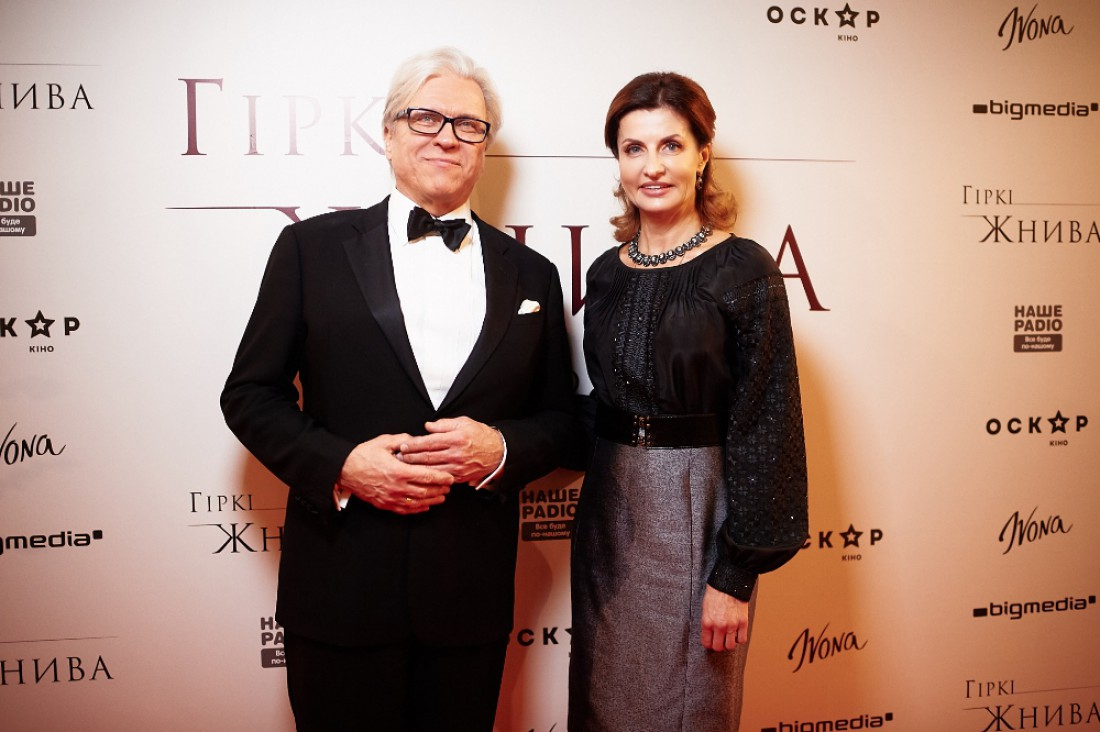Ян Игнатович и Марина Порошенко