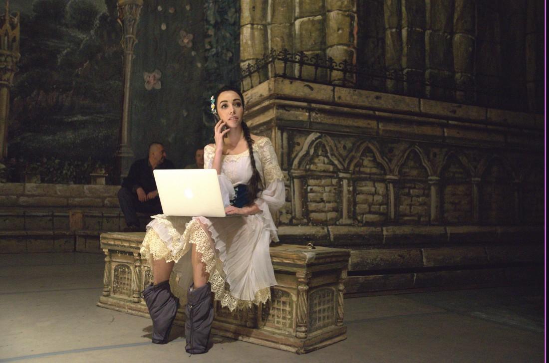 Прима Национального театра оперы и балета Украины