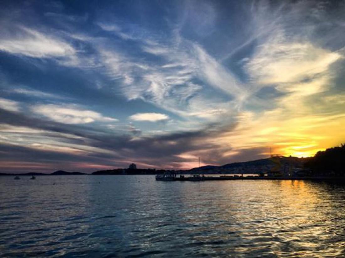 Закат в Хорватии