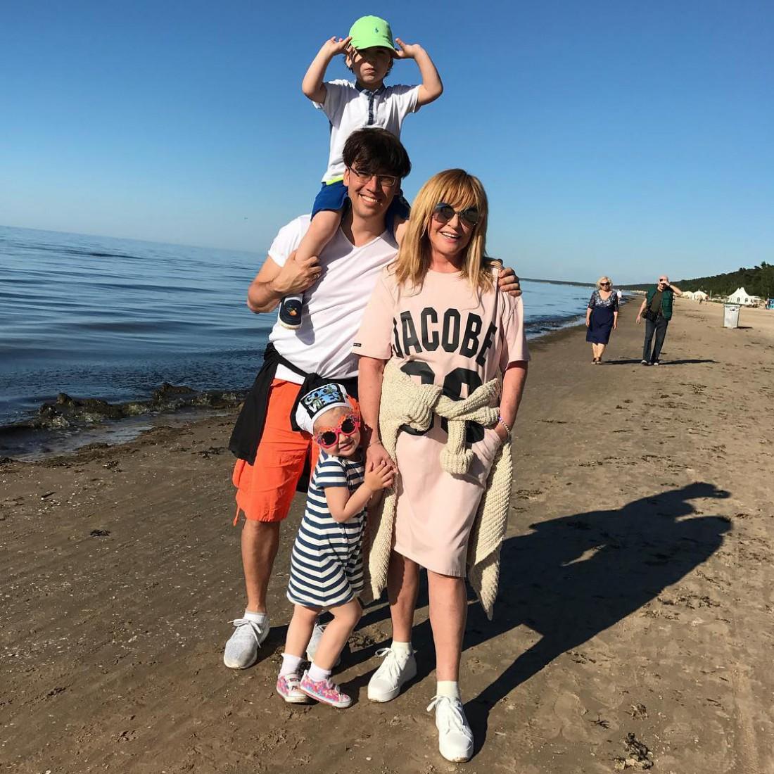 Максим Галкин, Алла Пугачева и их дети