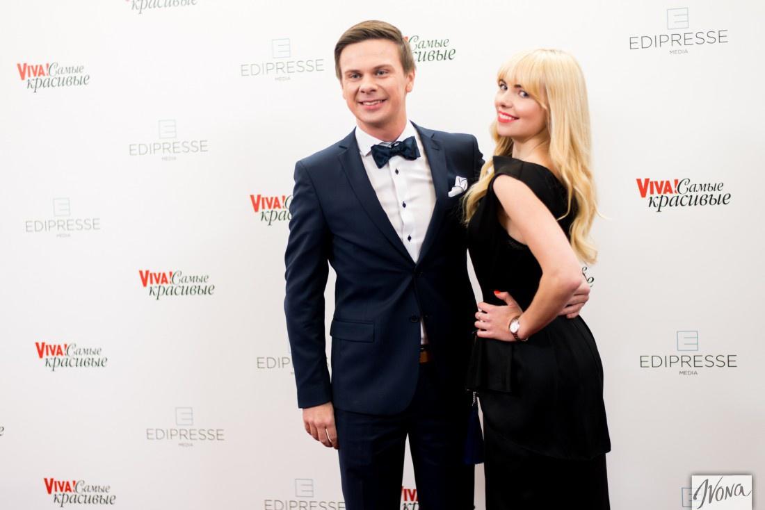 Дмитрий Комаров с сестрой Ангелиной
