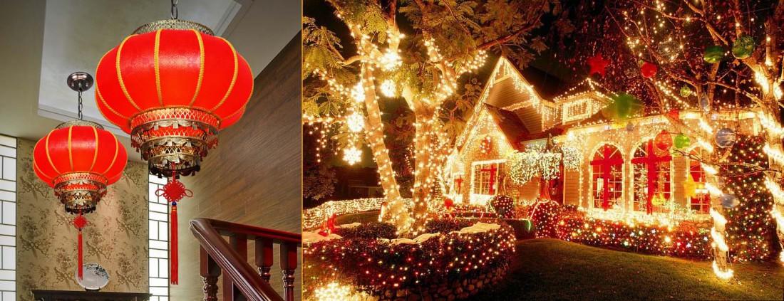 Как украсить дом на Новый Год