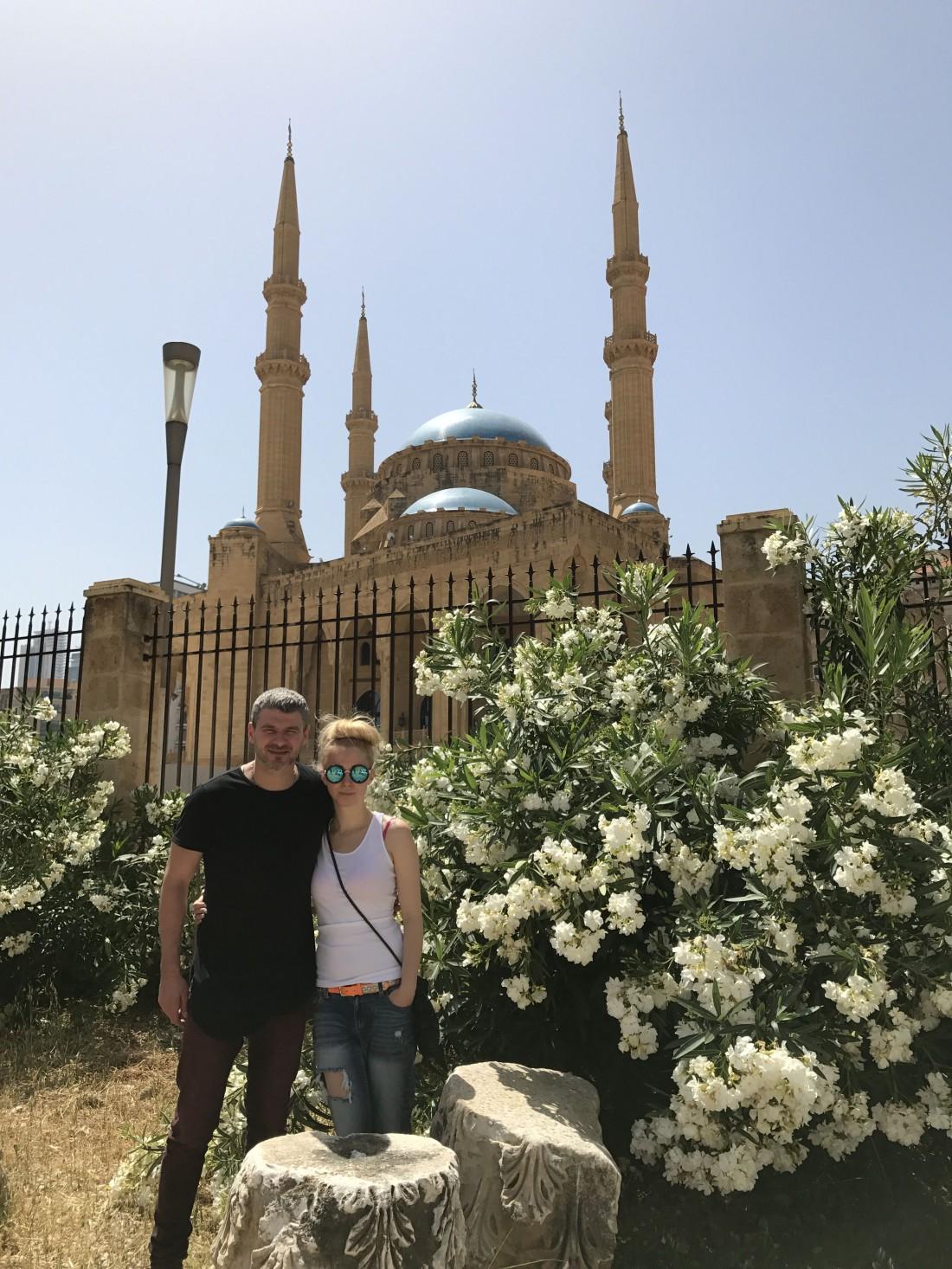 Тоня Матвиенко и Арсен Мирзоян в Ливане