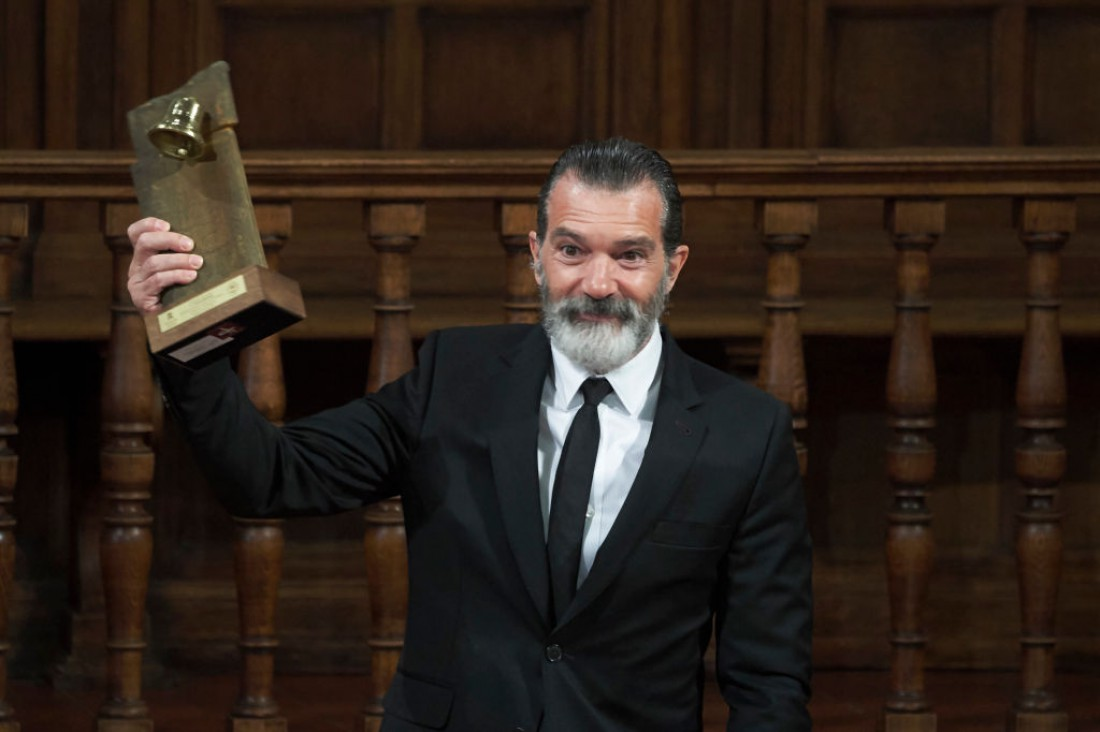 Антонио Бандерас получил награду Camino Real Prize
