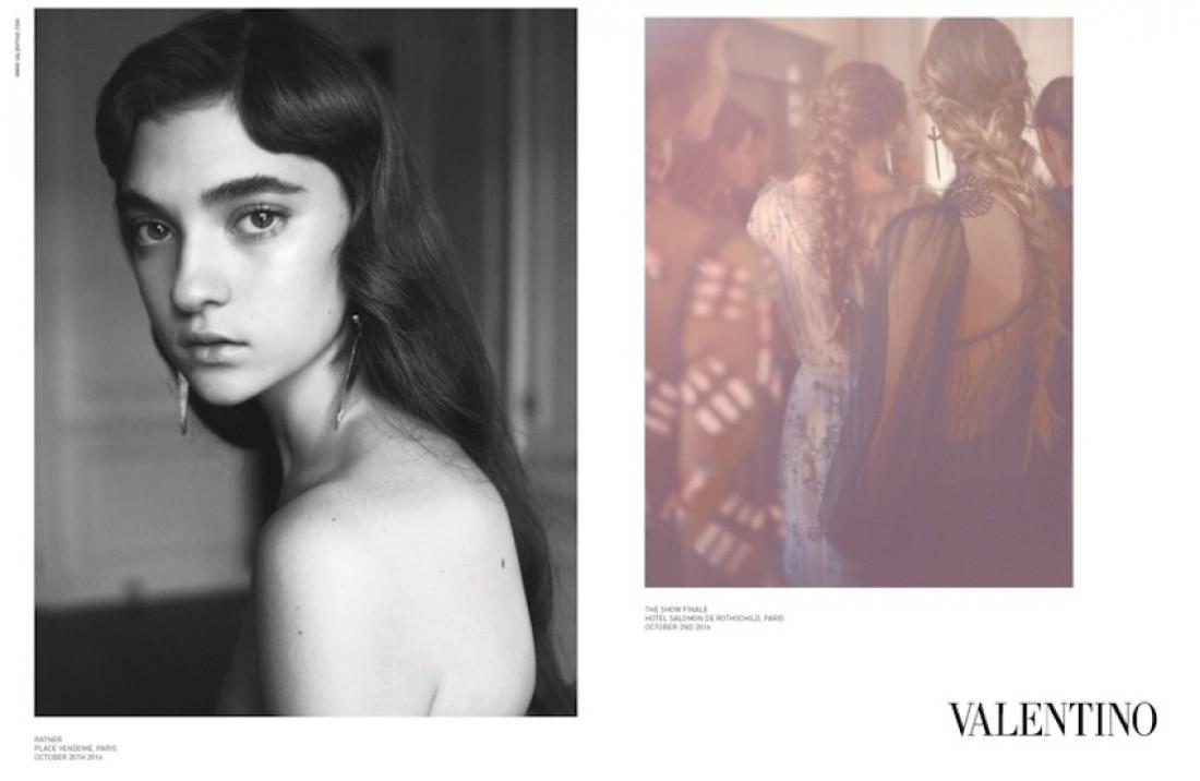 Новая рекламная кампания Valentino