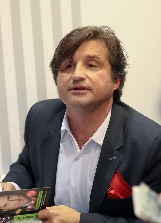 Журналист и шоумен Отар Кушанашвили – многодетный отец