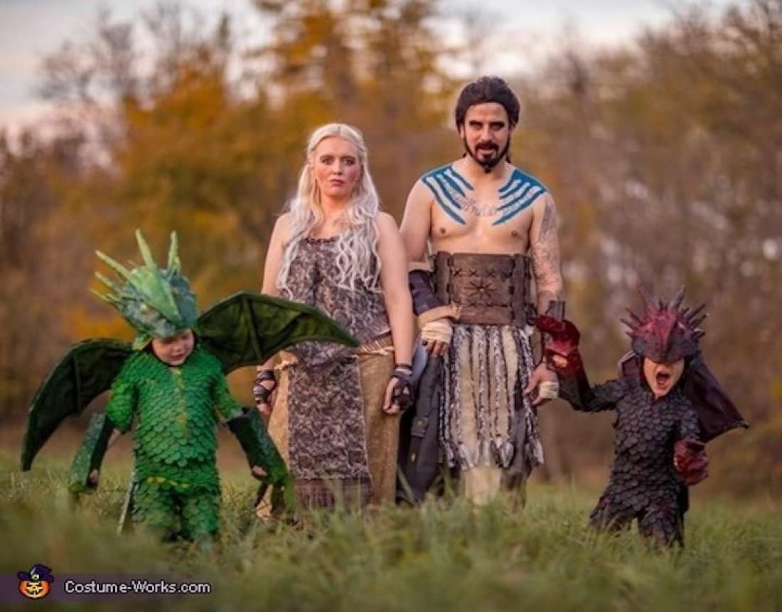 Детские костюмы в стиле Игры престолов
