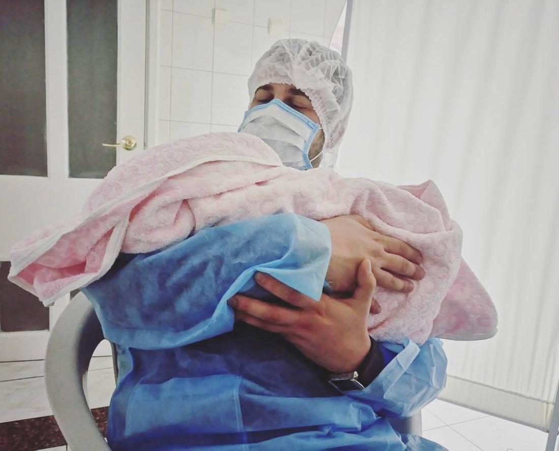Алексей с дочкой Дашей