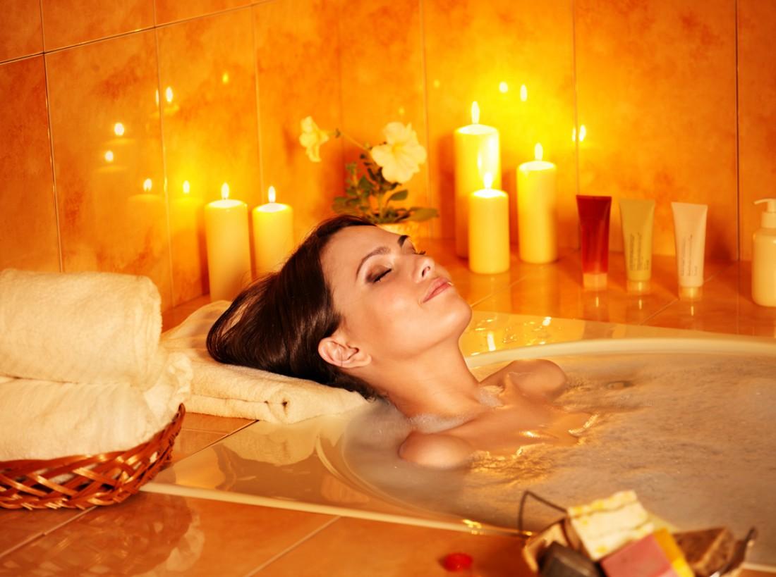 Прими ванну и расслабся
