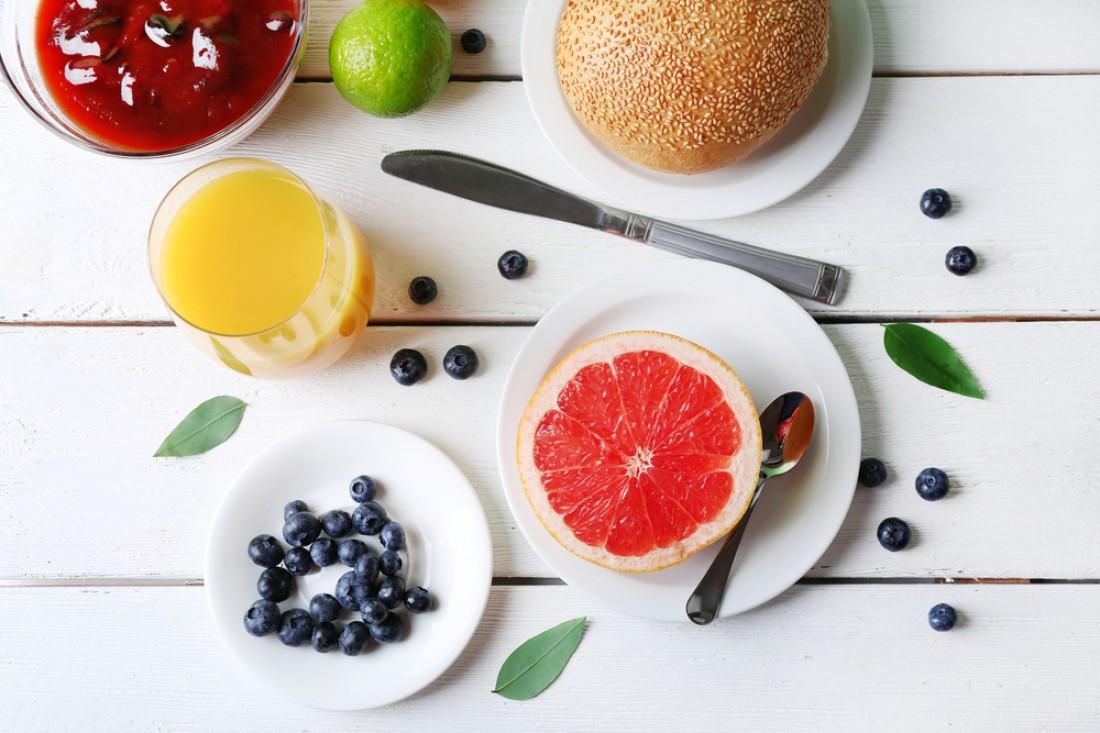 Фрукты на завтрак