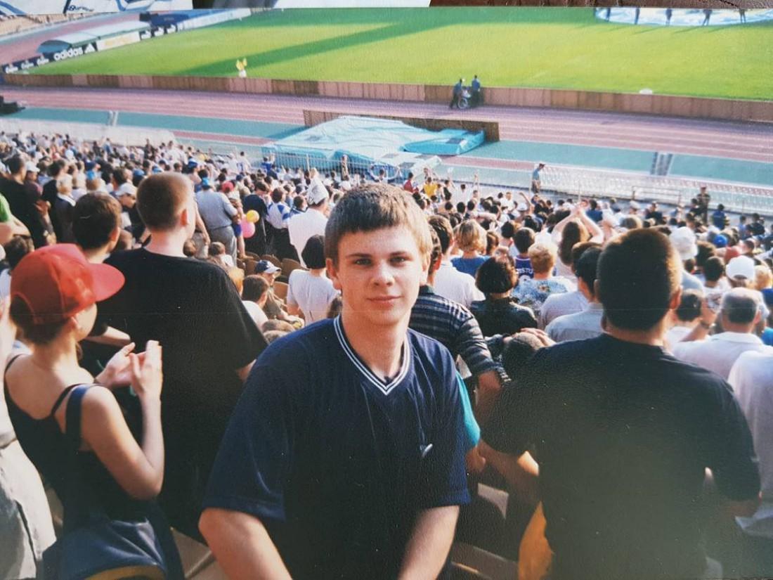 Дмитрий Комаров. 2000 год