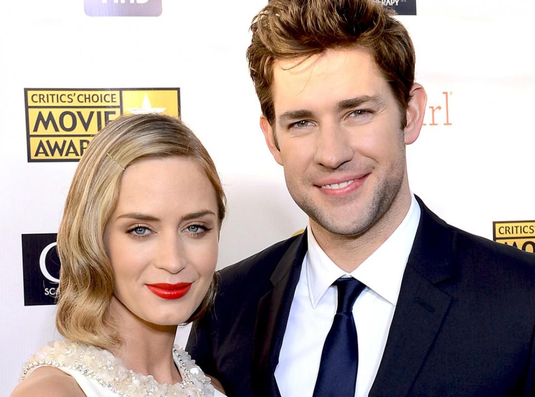 Эмили Блант вместе с мужем