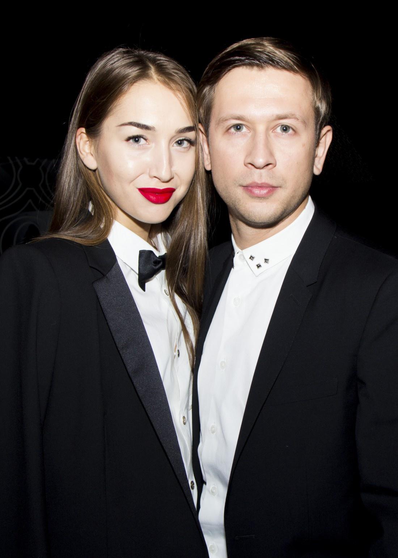 Дмитрий Ступка со своей девушкой