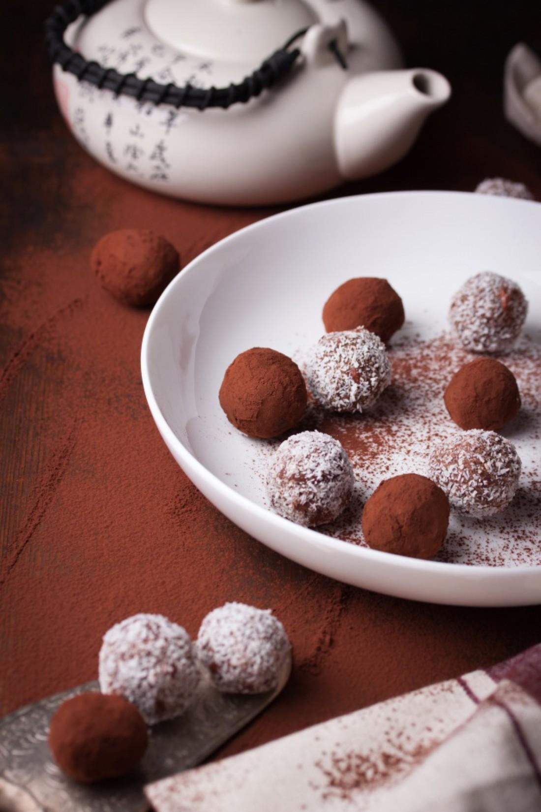 Шоколадные трюфели: рецепт с фото
