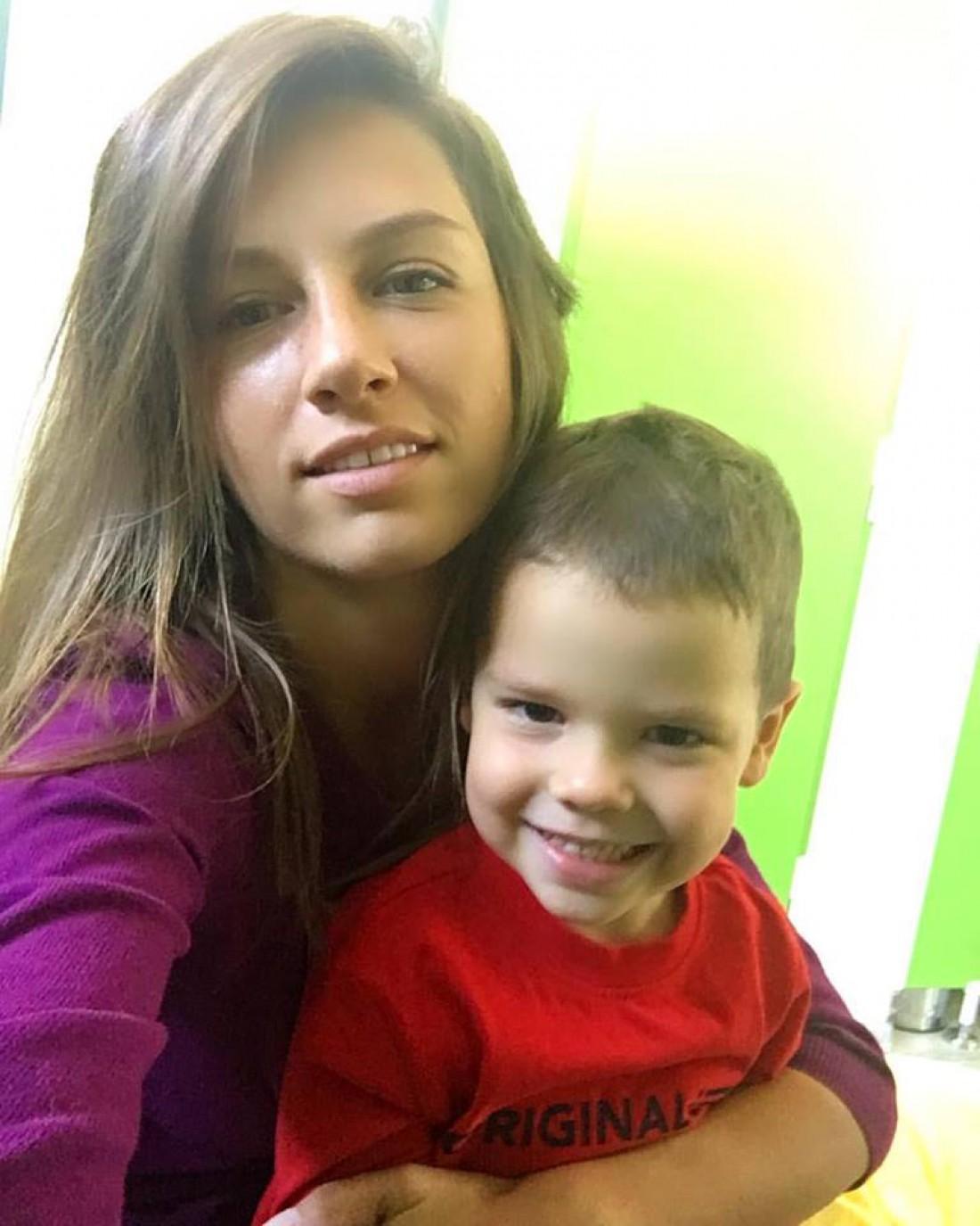 Ваня Решетник с мамой