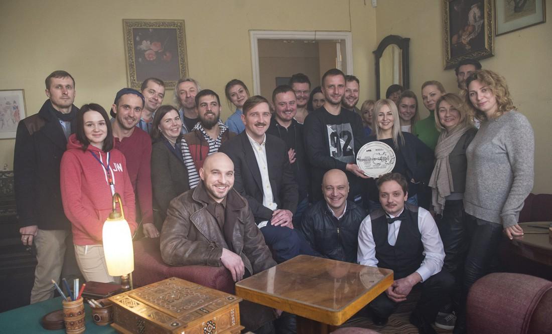 Съемочная группа сериала Сувенир из Одессы