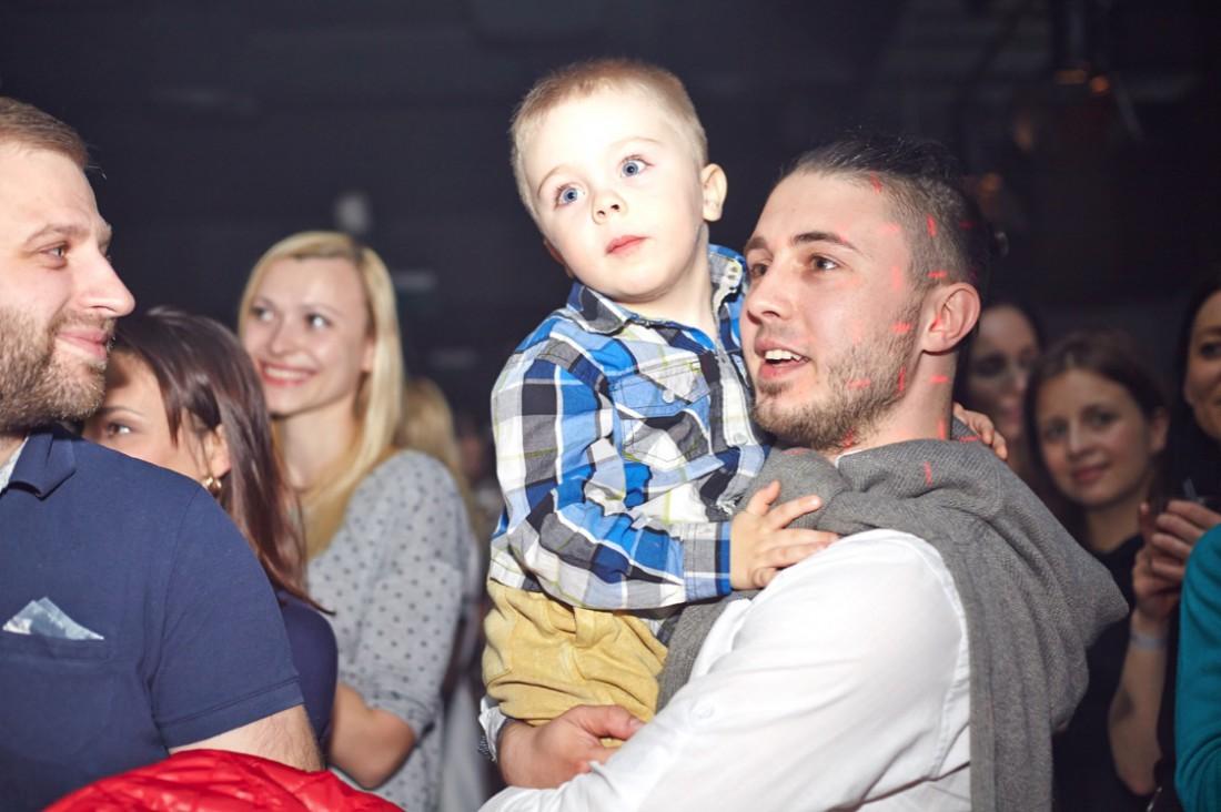 Тарас Тополя с сыном Романом
