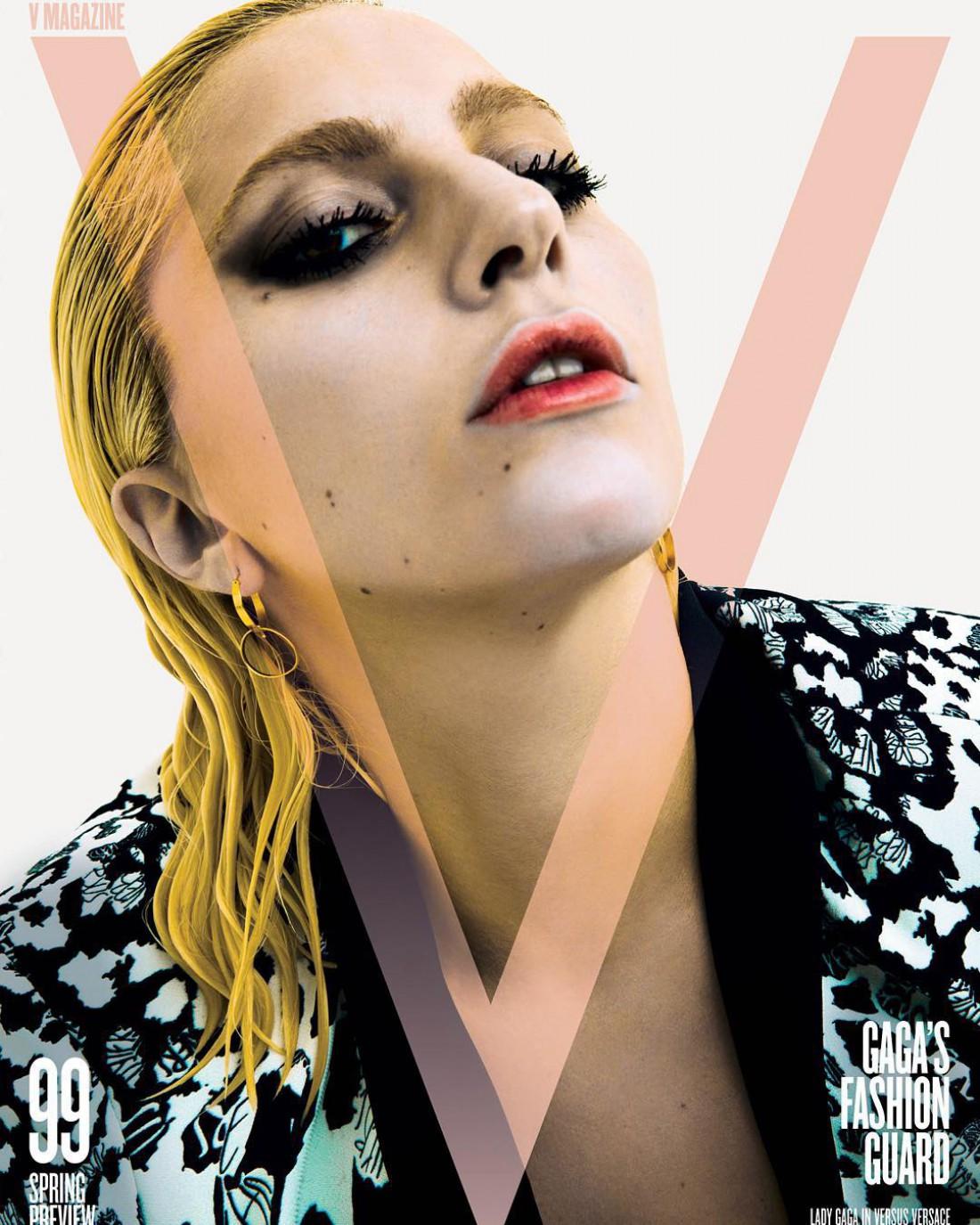 Lady Gaga на обложке журнала V Magazine