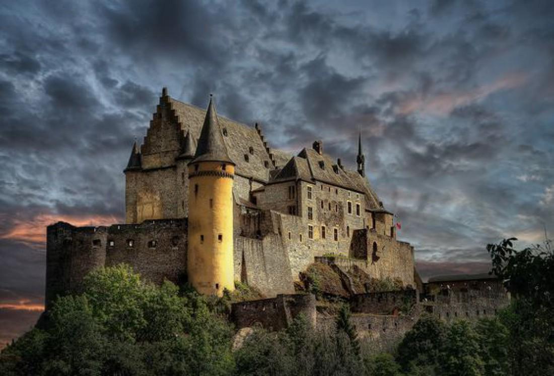 Замок Вианден - один из красивейших замков Люксембурга