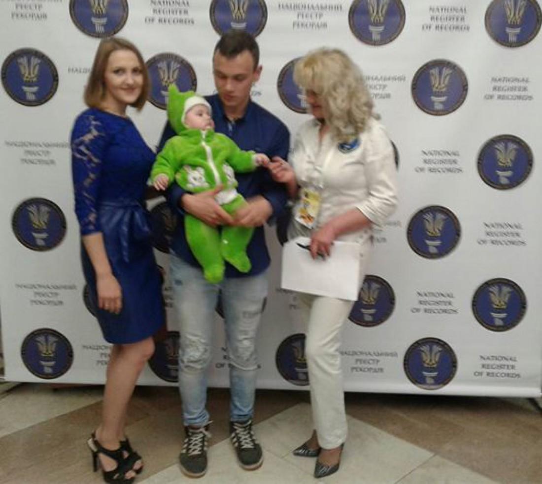 Определен самый молодой отец Украины