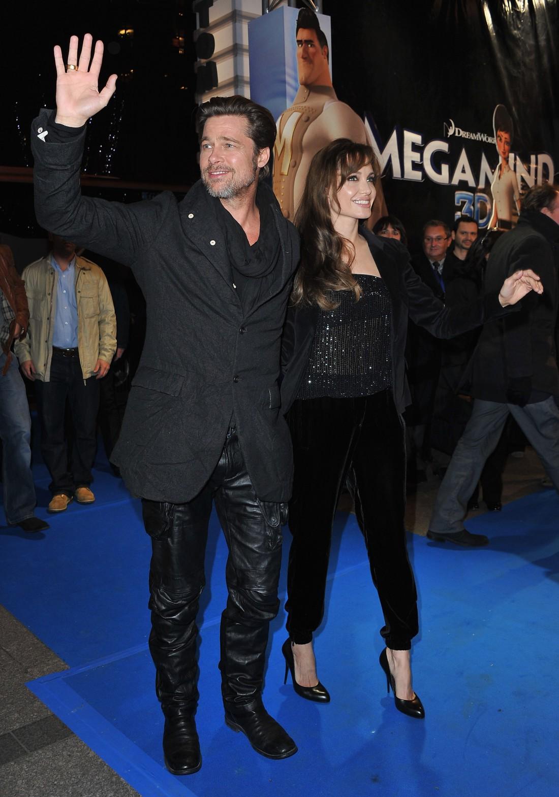 Питт с Джоли. 2010 год.