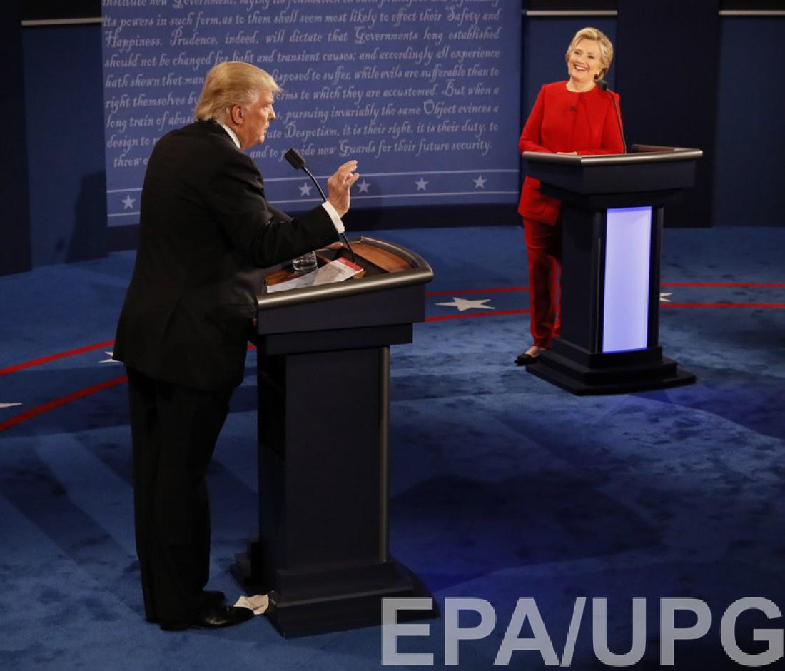 Дональд Трамп и Хиллари Хлинтон