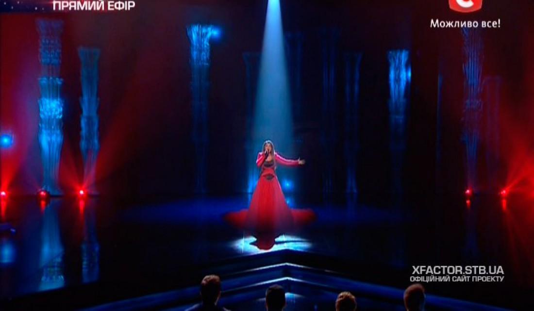 Х-фактор 6 сезон первый прямой эфир: Наталии Папазоглу