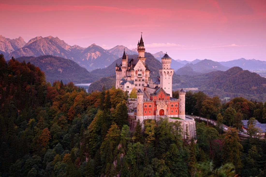 Замок Нойшванштайн. Швангау, Германия