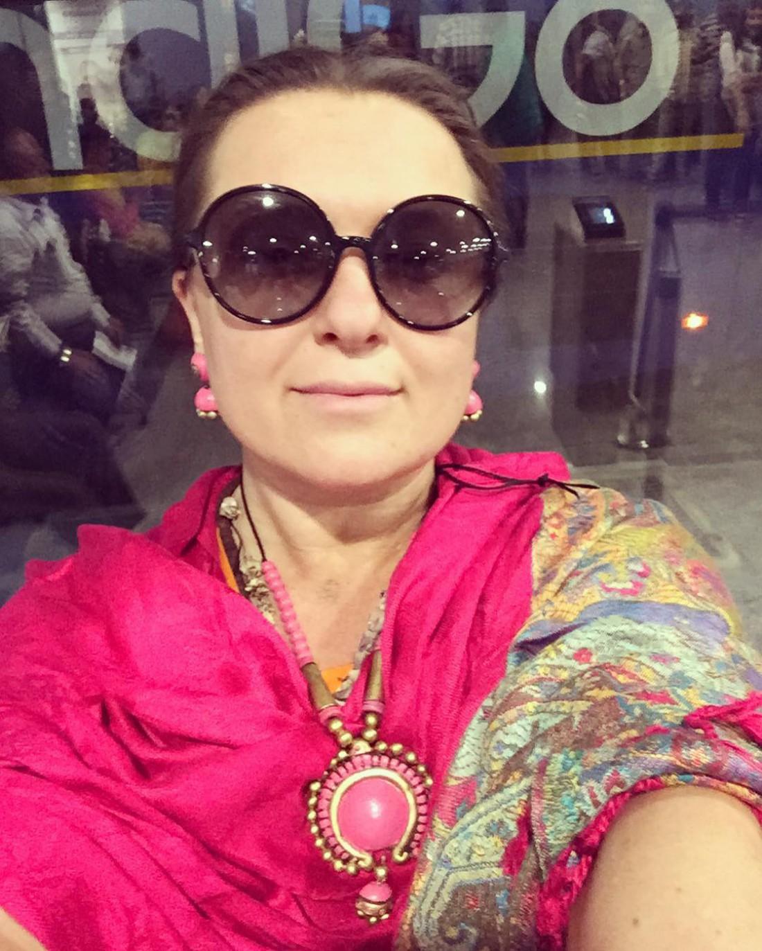 Наталья показала фото с отдыха в Индии
