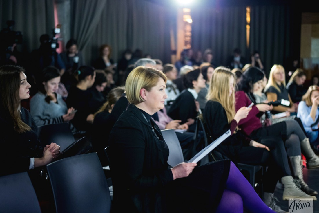 Глава оргкомитета Ukrainian Fashion Week Ирина Данилевская