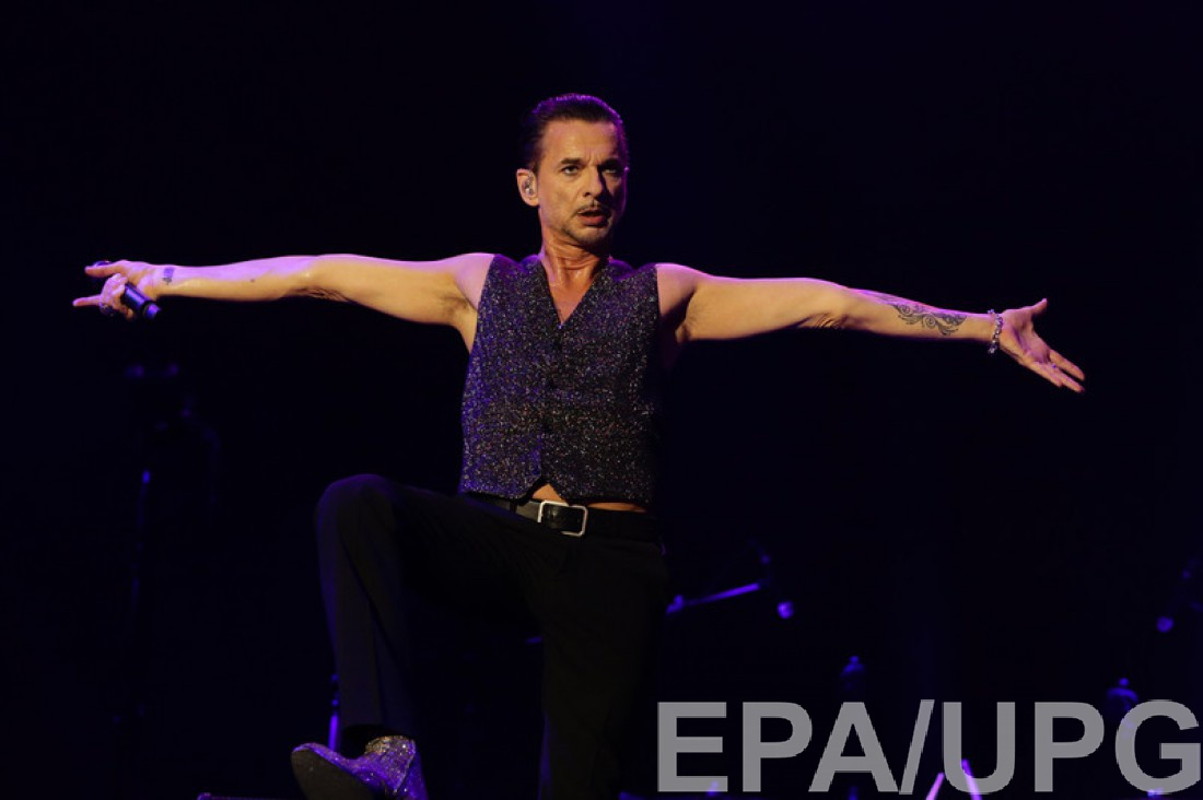 Солист группы Depeche Mode Дейв Гаан