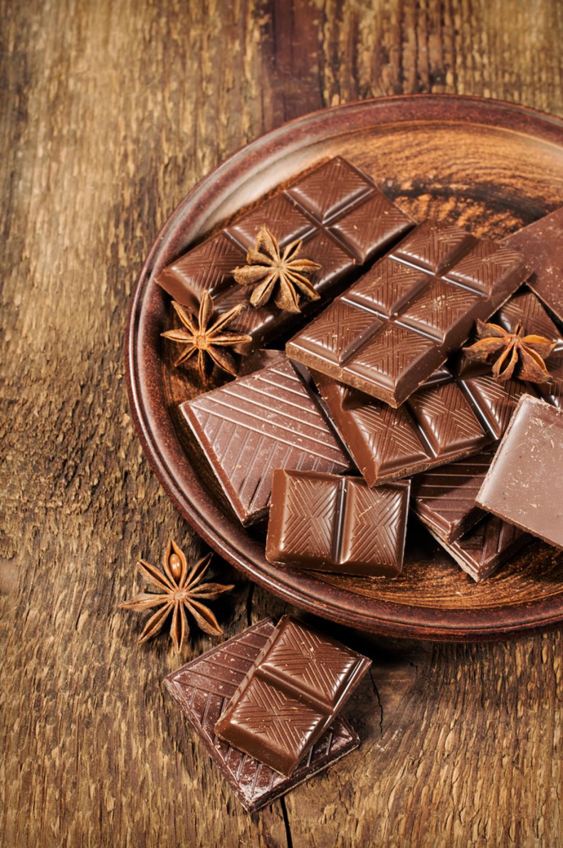 Шоколад помогает при кашле