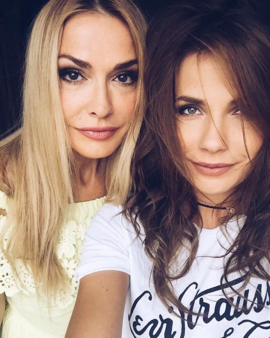 Ольга Сумская с дочкой Антониной