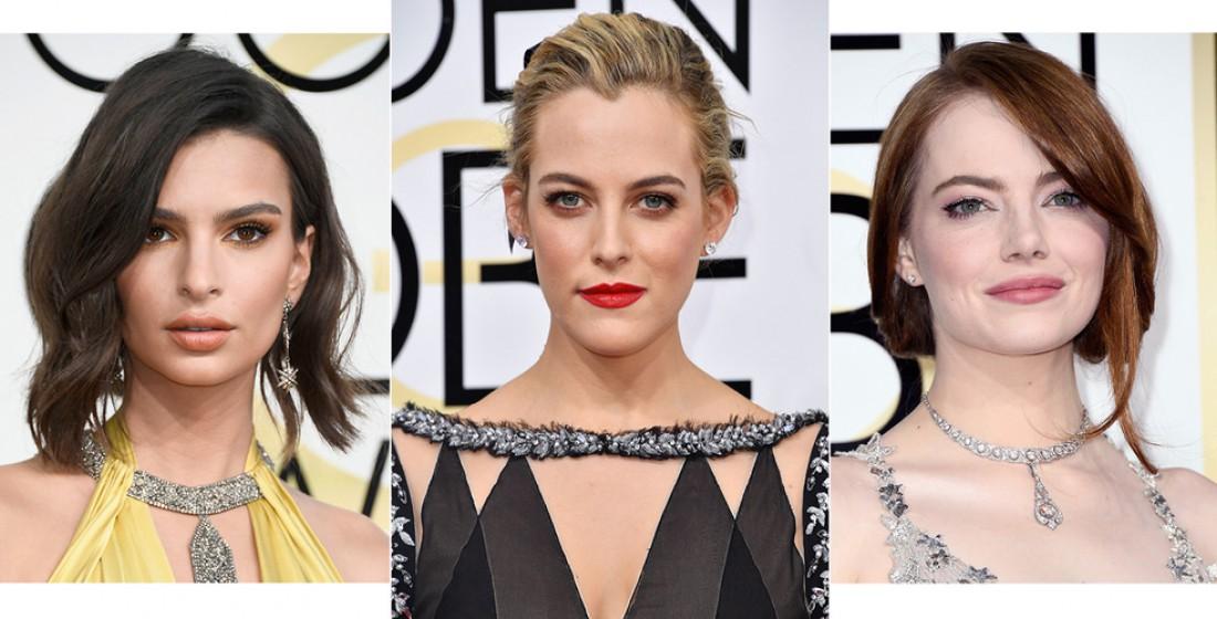 Лучшие beauty-образы звезд на красной дорожке Золотого глобуса 2017