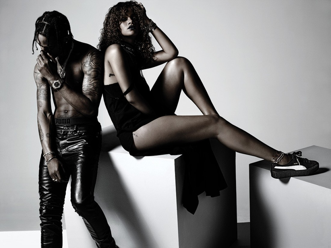 Рекламная кампания Fenty Puma by Rihanna
