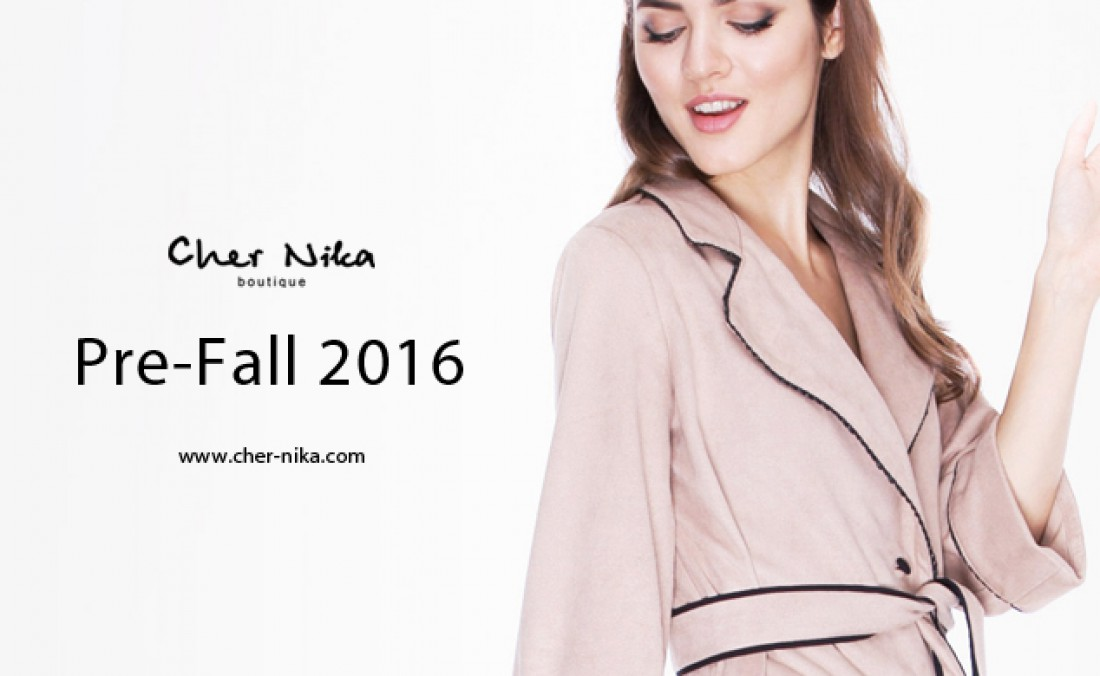 Коллекция Pre-Fall 2016 от Cher Nika Boutique