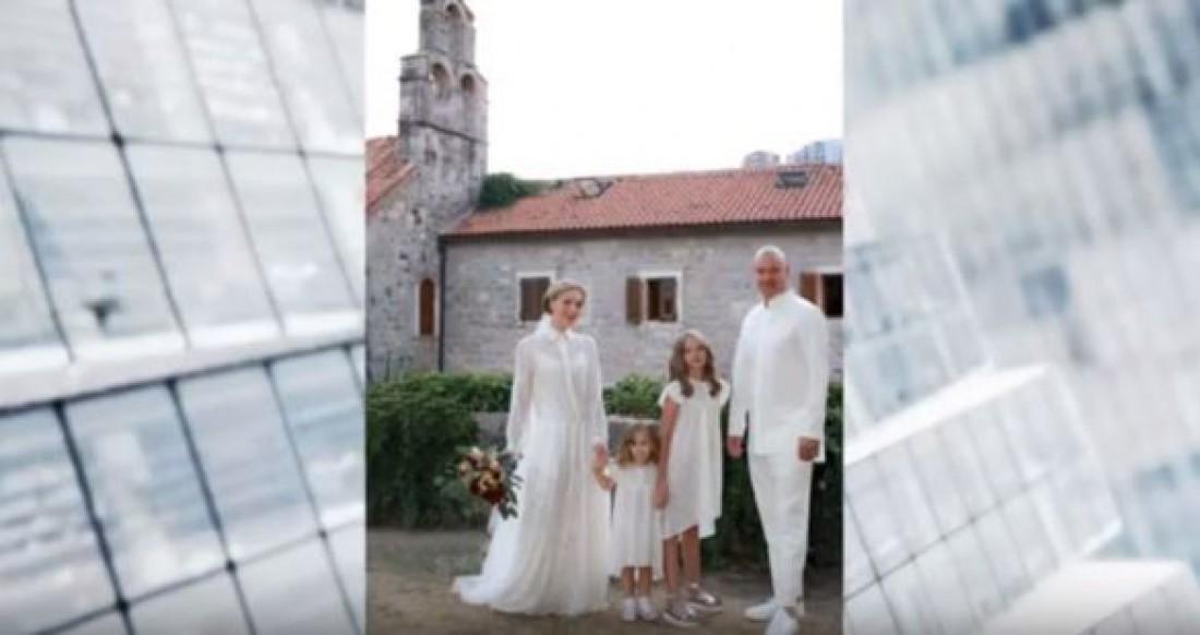 Евгений Кошевой обвенчался с женой