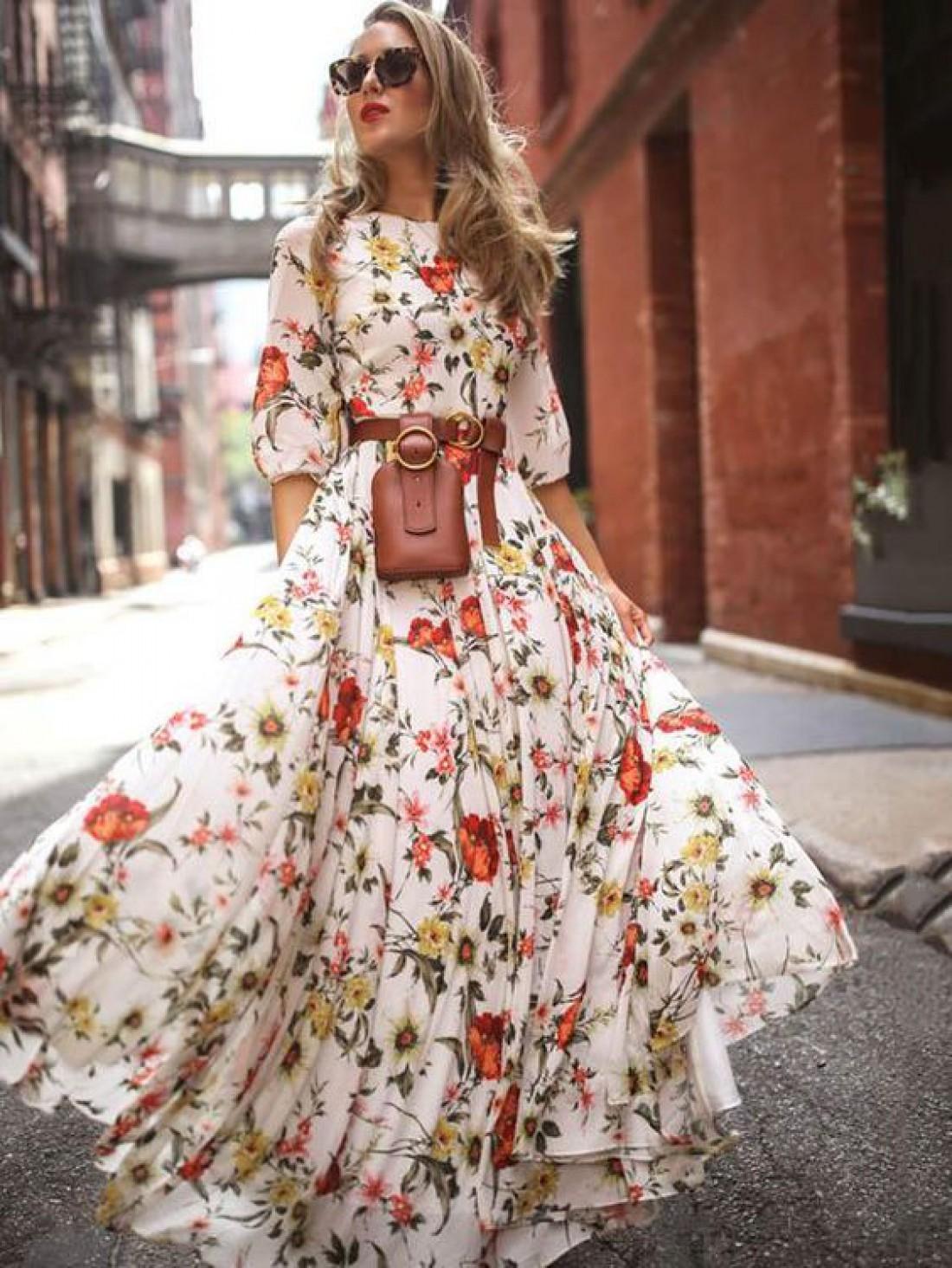 Легкое романтическое платье