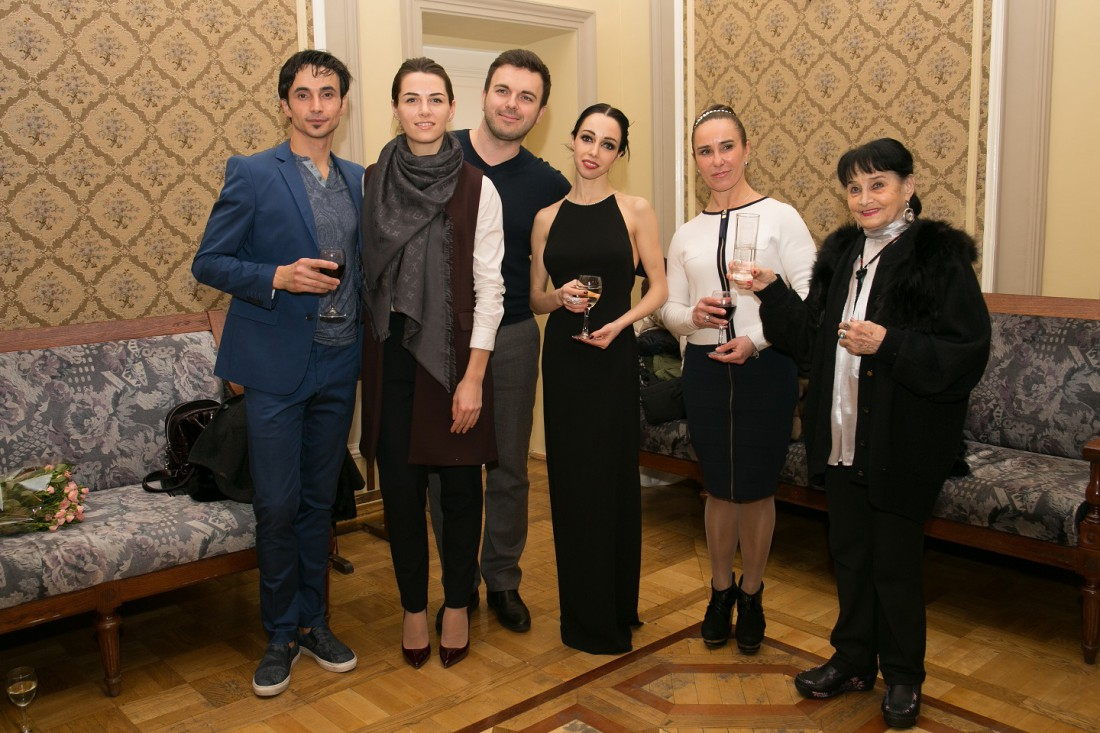 А.Стоянов, Кристина и Григорий Решетник, Екатерина Кухар и Стелла Захарова