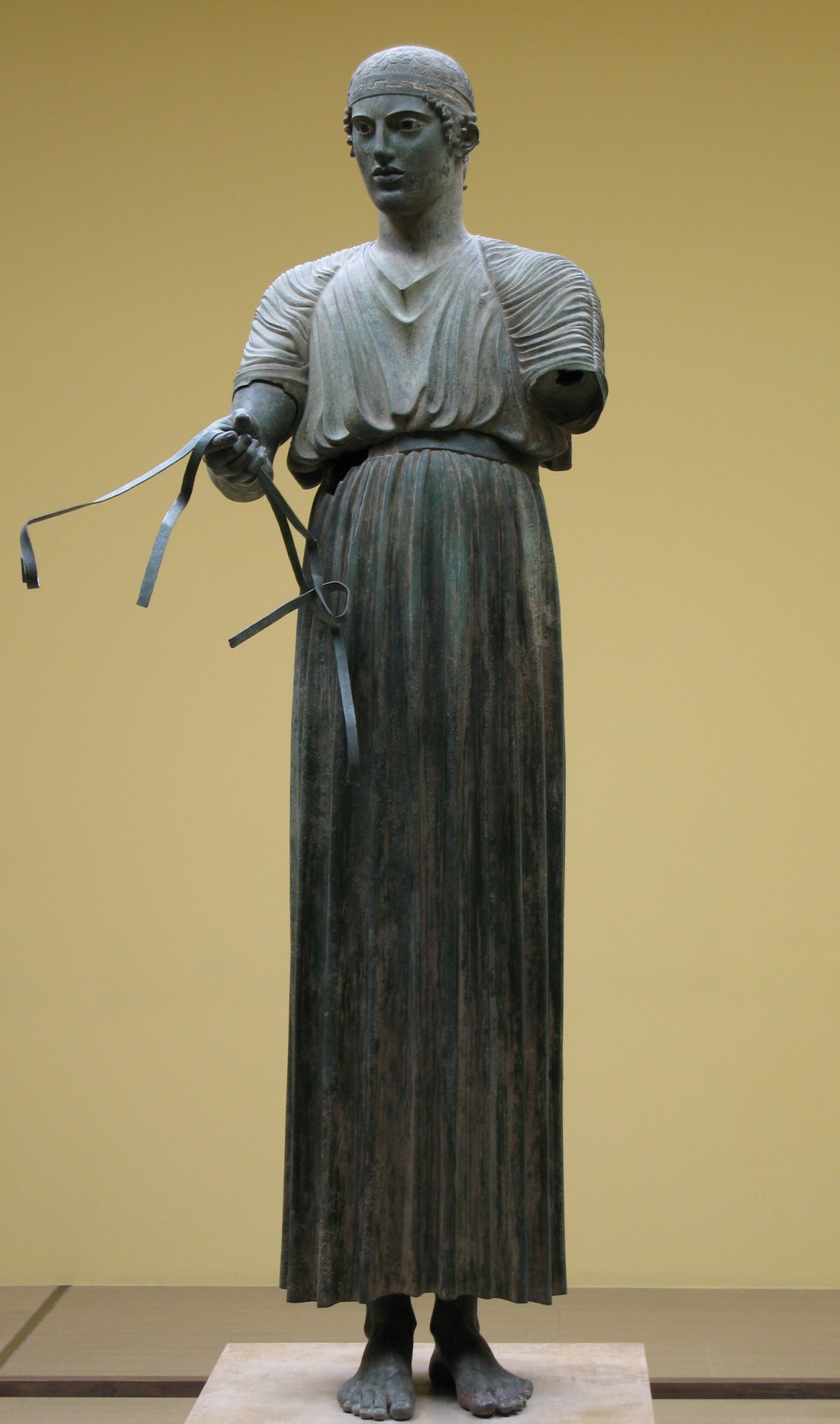 Древнегреческая туника в технике плиссе