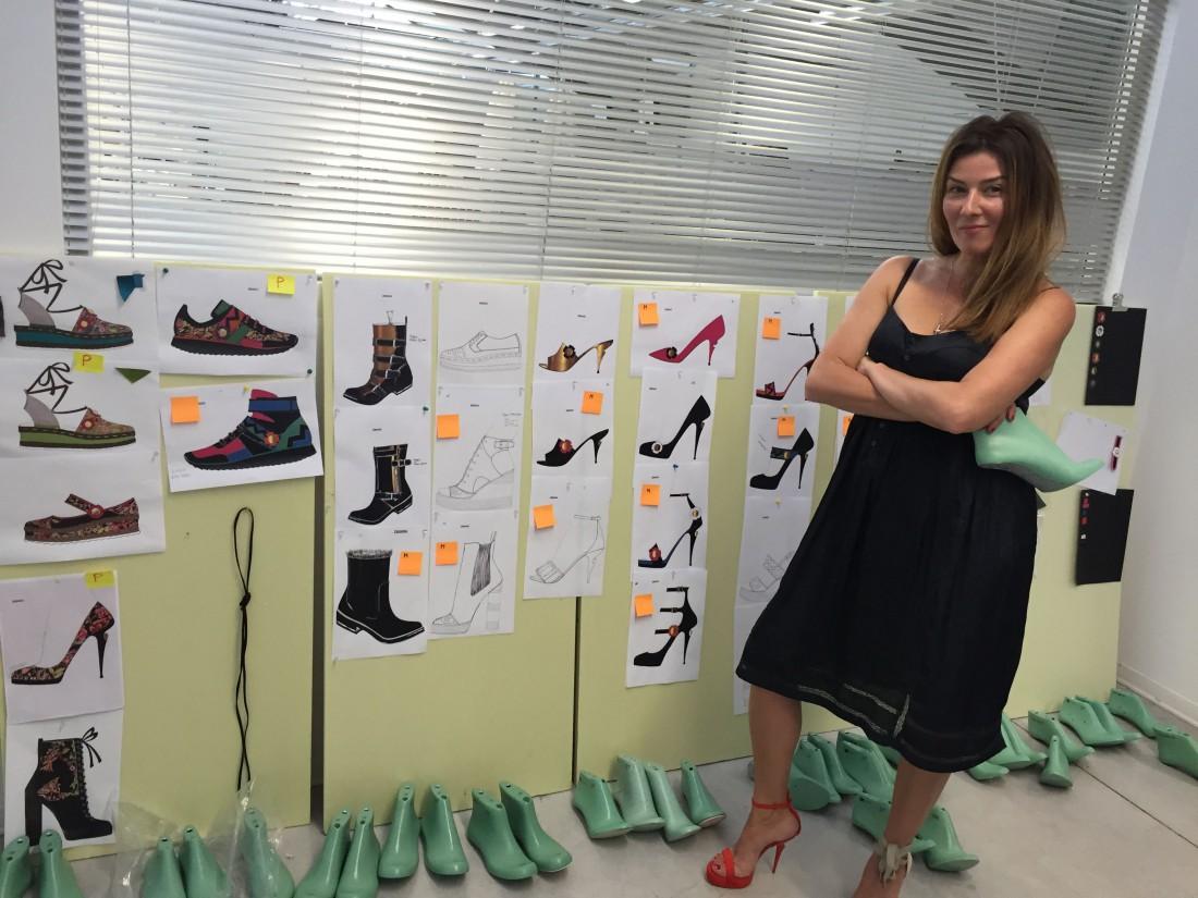 Жанна Бадоева стала дизайнером обуви