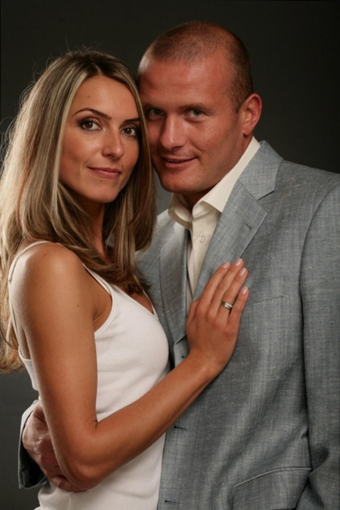 Вячеслав с женой Мариной