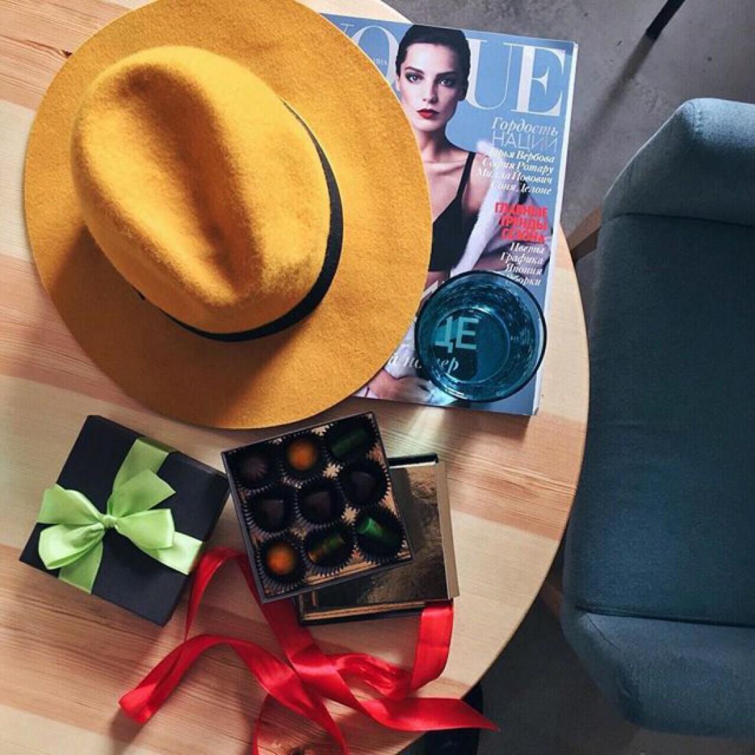 Желтая шляпа – стильный аксессуар для весны